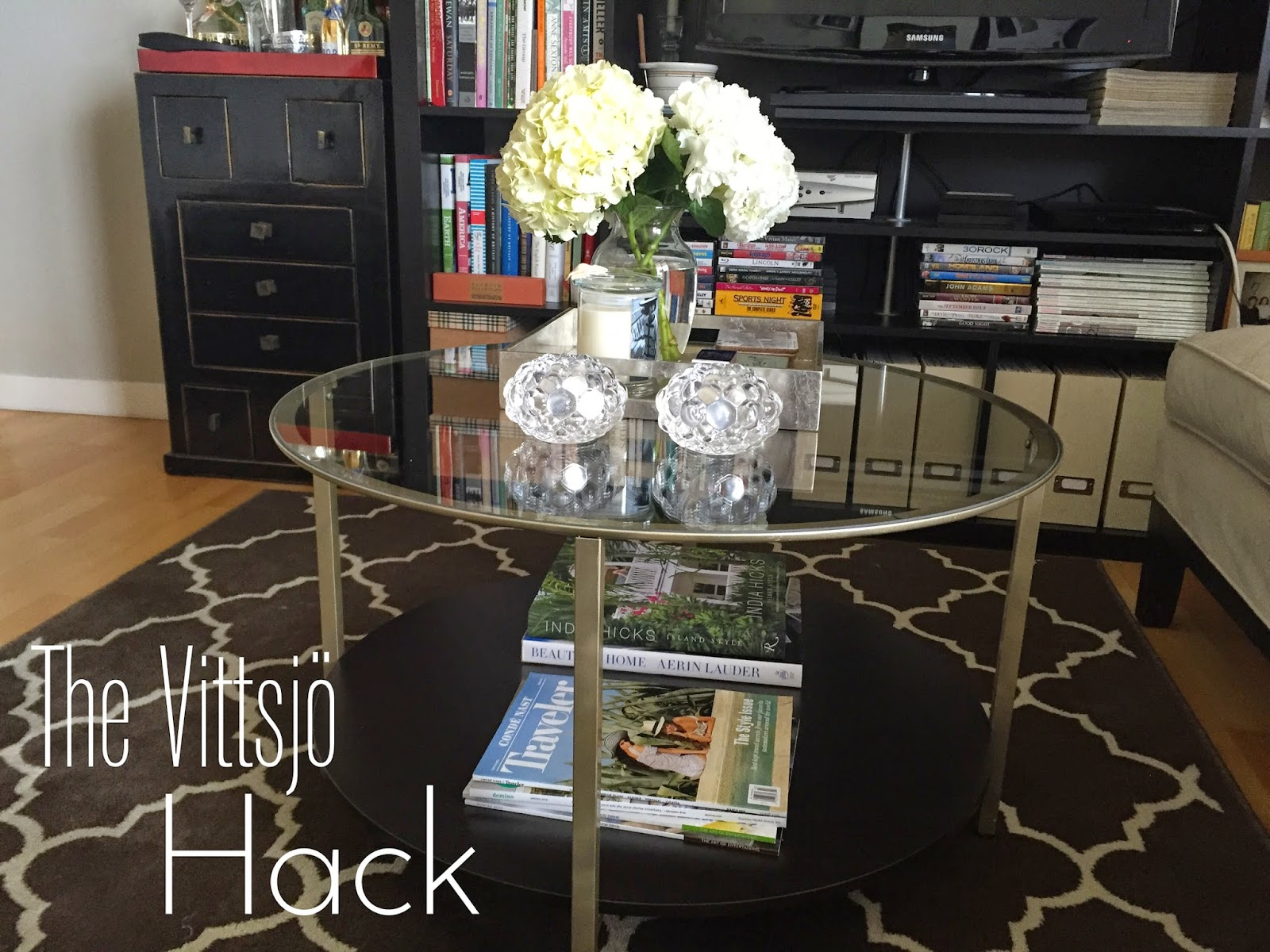IKEA Vittsjö Hack My Golden Table – brilandgirl